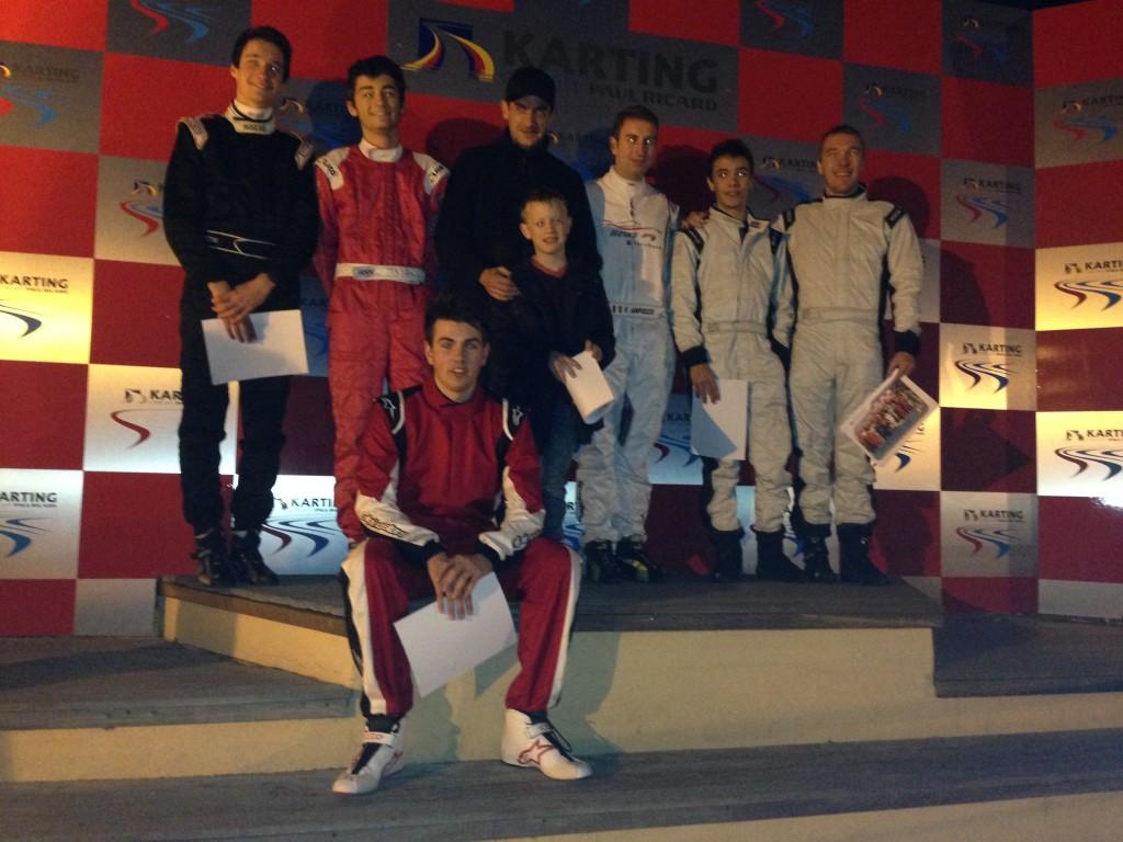 TOULON NEW'S F1 seconde fois vainqueur devant CASTELLET TEAM et AIX MASA JR