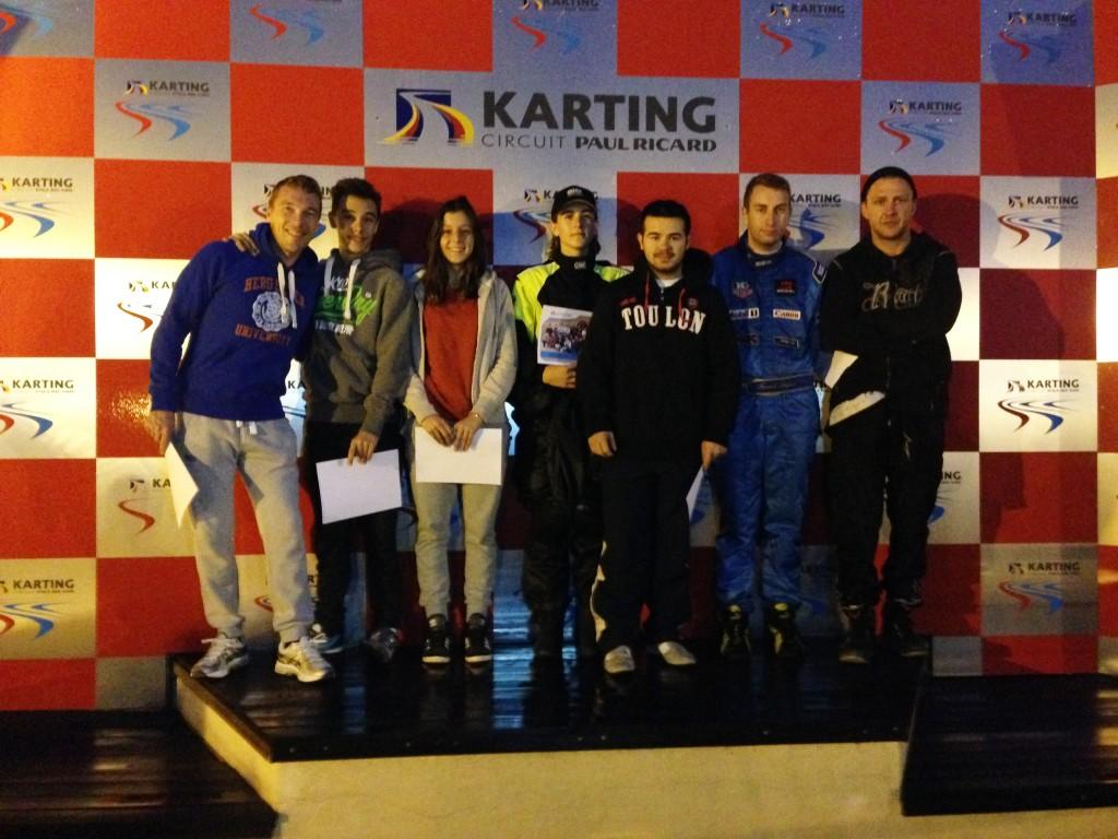 1ère victoire pour SANTINI RACING VAR devant AIX MASA JR et TOULON NEW'S FI